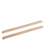 Flat Round End Wooden Ice Lolly Sticks (Manual Quality)